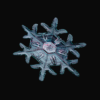 Snowflake 011 Copyright 2015 James A. Rinner