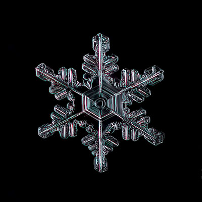 Snowflake 013 Copyright 2015 James A. Rinner